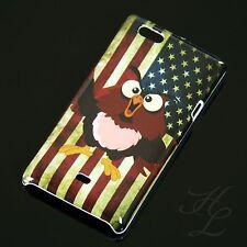 Sony Xperia Miro ST23i Hard Case Schutz Hülle Cover Etui Flagge USA Eule Owl