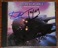DEEP PURPLE MADE JAPAN SIGNED CD GILLAN LORD GLOVER PAICE UACC REGISTERED DEALER