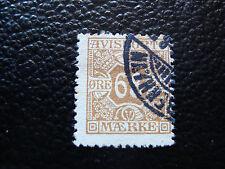 DANEMARK - timbre yvert et tellier journaux n° 7 obl (A9) denmark