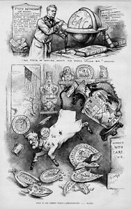 THOMAS NAST FOREIGN POLICY PANAMA MEXICO NICARAGUA PERU CENTRAL AMERICA CHINESE