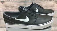 Nike Zoom Stefan Janoski L Black White 616490-013 Skate Shoes Men's Size 11.5