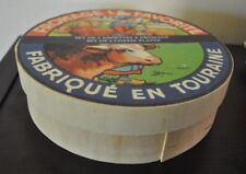 """NEW  KISS THAT FROG Set/4 CHEESE PLATES FABRIQUE EN TOURAINE 7.5""""D Wooden BOX"""