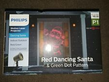 Philips Christmas Laser Projector Dancing Santa Red/Green