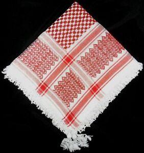 Unisex Cotton Arabian Scarf Wrap keffiyeh Tactical Fashion Desert Shemagh Hatta