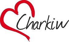 """AUTO Adesivo """"charkiw"""" sticker città ucraina circa 9x15cm contorno tagliati"""