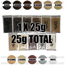 KaiRX 25g Hair Fibers Refill Pack Keratin Cotton Regain Confidence ANY COLOUR 06