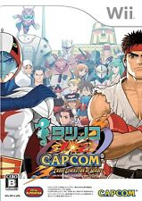 USED Game Wii Nintendo Tatsunoko vs Capcom Cross Generation *JAPAN VER.