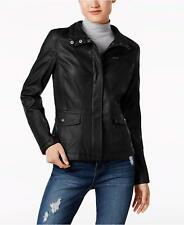 Celebrity Pink Juniors' Faux-Leather Jacket