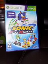 Sonic Free Riders (Microsoft Xbox 360, 2010) EUC