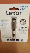 Lexar C25i 32 GB USB 3.0 Flash/JumpDrive para iPhone 5 e iPad Pro/Mini/Air/