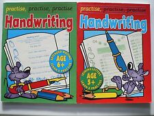 2 x Handwriting books - Joining Letters Age 5+ & Extended Writing Age 6+ (2005)