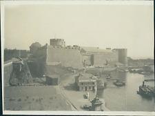 France, Brest, le Château  Vintage print Photomécanique  13x17  Circa