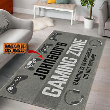 Personalized Gaming Zone Custom Gaming Rug Funny Gamer Best Gift For Living Room