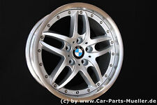 """5er BMW e39 M Pacchetto Alufelge doppio Cerchi a raggi 71 CERCHIO 17"""" wheel jante RUOTA Rueda"""