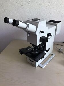 """Mikroskop """"Carl Zeiss Jena"""" Jenamed 2 Fluorescence-Stereomikroskop Labor Medizin"""