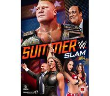Official WWE Summerslam 2014 DVD