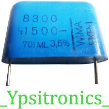 Folien Kondensator Polyester Capacitors 6,8uF 63V Axial MKT TGL 43199 NEU