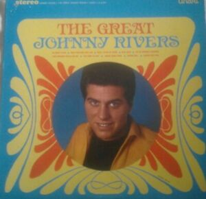 JOHNNY RIVERS The Great Johnny Rivers LP US UNART 1967 STEREO