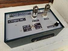 Émetteur faible puissance AM, à lampes, pour ancienne radio TSF