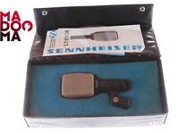 SENNHEISER MD409 U3 Vintage Cardioid Microphone XLR+clip+case MINT #11948