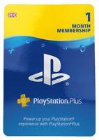 Playstation Network PSN UK - United Kingdom 1 months membership