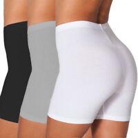 Women Biker Shorts Yoga Workout GYM Sports Bermuda Leggings High Waist Mid Pants