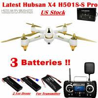 Hubsan H501SS PRO X4 FPV Drone Brushless 1080P GPS RTH Follow Me Headless RTF