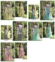Anarkali Salwar Kameez New Indian Pakistani Wedding Bollywood Stayle Suit Dress