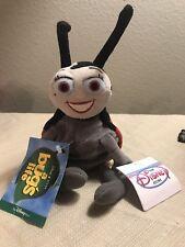 """Disney 8"""" Francis Mini Bean Bag Beanie Nwt from A Bug's Life Ladybug"""