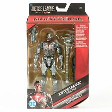"""DC Comics Multiverse Justice League Movie Cyborg 6"""" With BAF Stepphenwolf"""