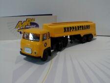 "Brekina 85189 - Scania LBS 76 in "" gelb "" Tank-Sattelzug "" Koppartrans "" 1:87"