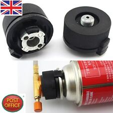Picnic Burner Cartridge Gas Fuel Canister Stove Cans Adapter Converter Head Tank
