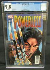 Powerless #5 (2004) Greg Land Hulk #340 Cover Swipe Marvel CGC 9.8 C550