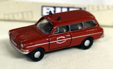 BUB 1/87 Scale - 09701 VW 1600 Variant 'FW Fire Service - Diecast Model car