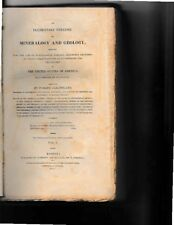 *uncmn* PARKER CLEAVELAND-1822-ELEMENTARY TREATISE on MINERALOGY and GEOLOGY, A+