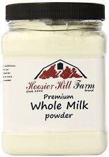 Hoosier Hill Farm All American Whole Milk Powder 2 LBS, Hormone Free, Gluten