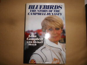 GINA CAMPBELL BLUEBIRDS THE STORY OF THE CAMPBELL DYNASTY BOOK