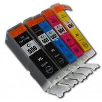 Cartouche d'encre PGI550 CLI551 compatible pour Canon MX725 MX925 IP7250 MG5450