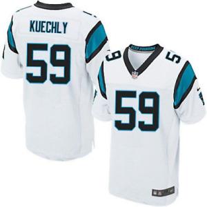 Carolina Panthers NFL Jersey Nike Kid's Road Jersey - Kuechly 59 - White - New