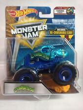 Hot Wheels Monster Jam: Crushstation 1:64 Scale Monster Truck - ChromaFrost  1/4