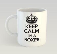 Keep Calm I'm A Boxer Mug Funny Birthday Novelty Gift Box Boxing