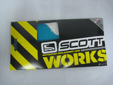 SCOTT HI VOLTAGE WORKS REPLACEMENT GOGGLE LENS AMP BLUE OFFROAD MX SX 206709-011