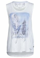Pepe Jeans Women's White Malaika Top Pick Your Size (with Tags) M