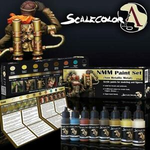 ScaleColor - NMM Gold and Copper Paint Set