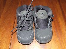 Nike 6C Air Jordan Black High Top Shoes Sneakers Toddler Boy Basketball 807720