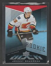 2014-15 UD Black Johnny Gaudreau Rookie Card 94/199