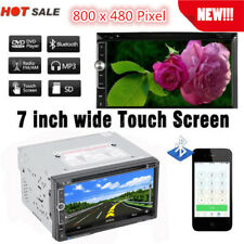 "7"" HD Double 2Din Stereo Car DVD CD MP5 Player Bluetooth In Dash FM Radio AUX OY"