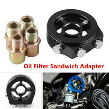 M20 1.5 Oil Filter Temp Pressure Cooler Gauge Sandwich Plate Adapter Sensor Well