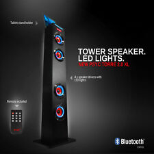 Sumvision Psyc Torre XL Bluetooth Wireless Portable Speaker Smartphone Tablet