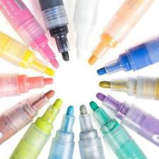 14 Colors Acrylic Marker Pens Waterproof Highlighter DIY Paint Art Design School